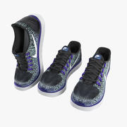 Sneakers - Nike Free RN Distance 3d model
