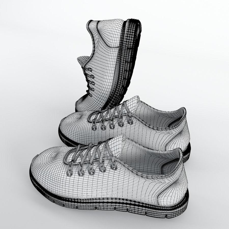 1b8c7e9701e 운동화 - Nike Free RN Distance royalty-free 3d model - Preview no. 9