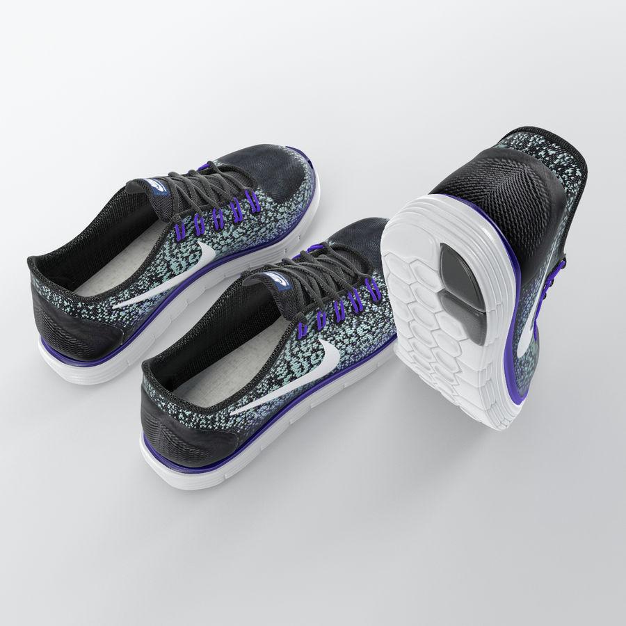 3ca68f1770b 운동화 - Nike Free RN Distance royalty-free 3d model - Preview no. 5