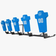 Football Training Dummy 01 3d model