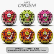 Nike Ordem 3 - Three Major Soccer Leagues 3d model