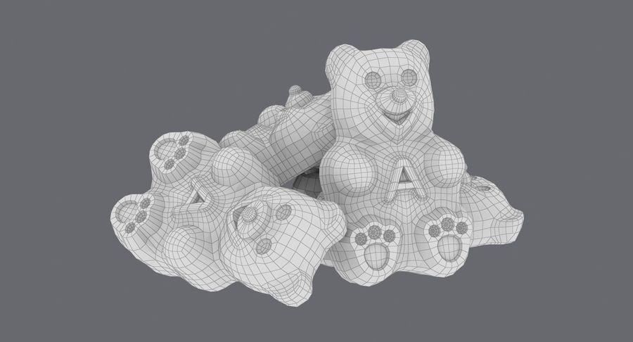 Ursinhos de goma royalty-free 3d model - Preview no. 17