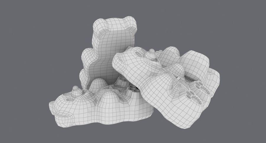 Ursinhos de goma royalty-free 3d model - Preview no. 18