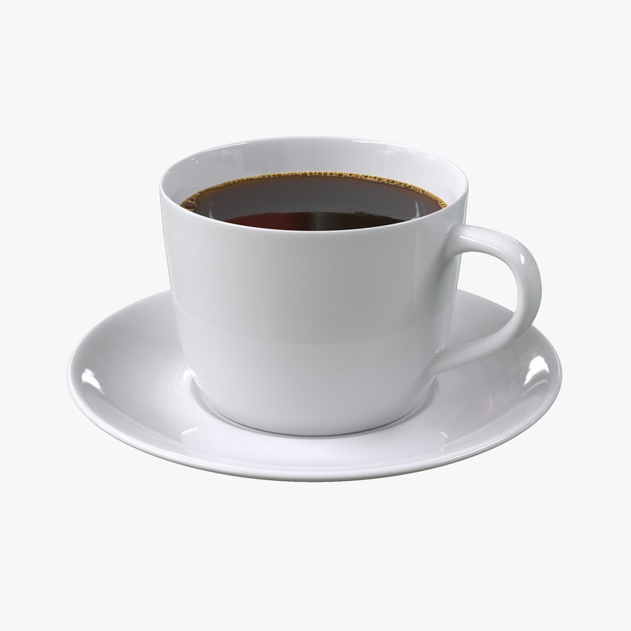 コーヒーカップ royalty-free 3d model - Preview no. 1