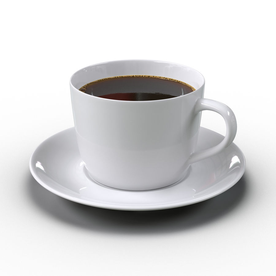 コーヒーカップ royalty-free 3d model - Preview no. 2