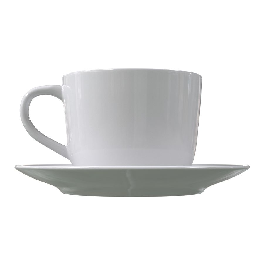 コーヒーカップ royalty-free 3d model - Preview no. 5