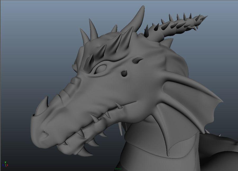 drake royalty-free 3d model - Preview no. 3