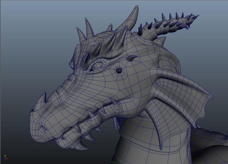 drake royalty-free 3d model - Preview no. 4