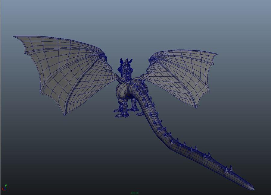 drake royalty-free 3d model - Preview no. 5