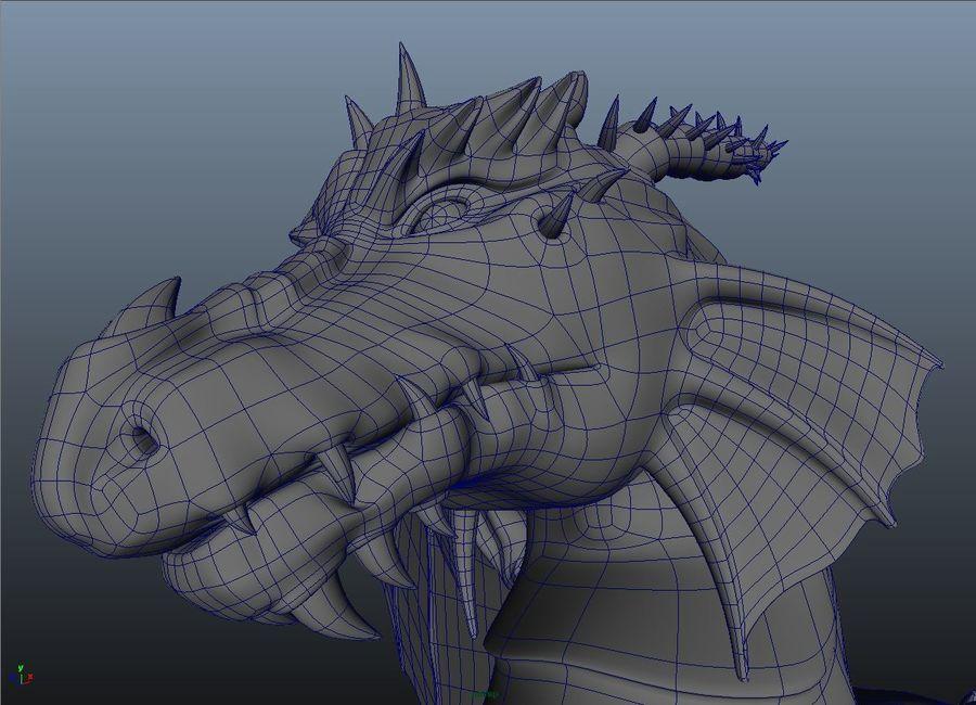 drake royalty-free 3d model - Preview no. 9