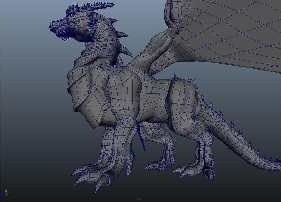 drake royalty-free 3d model - Preview no. 8