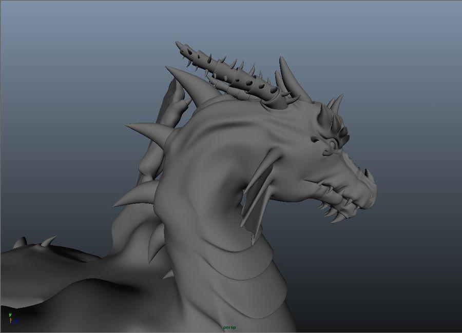drake royalty-free 3d model - Preview no. 6