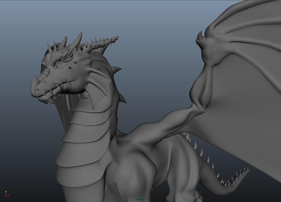 drake royalty-free 3d model - Preview no. 1