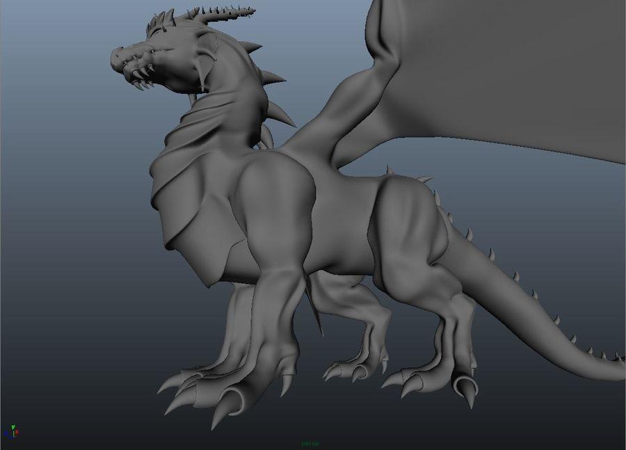drake royalty-free 3d model - Preview no. 7