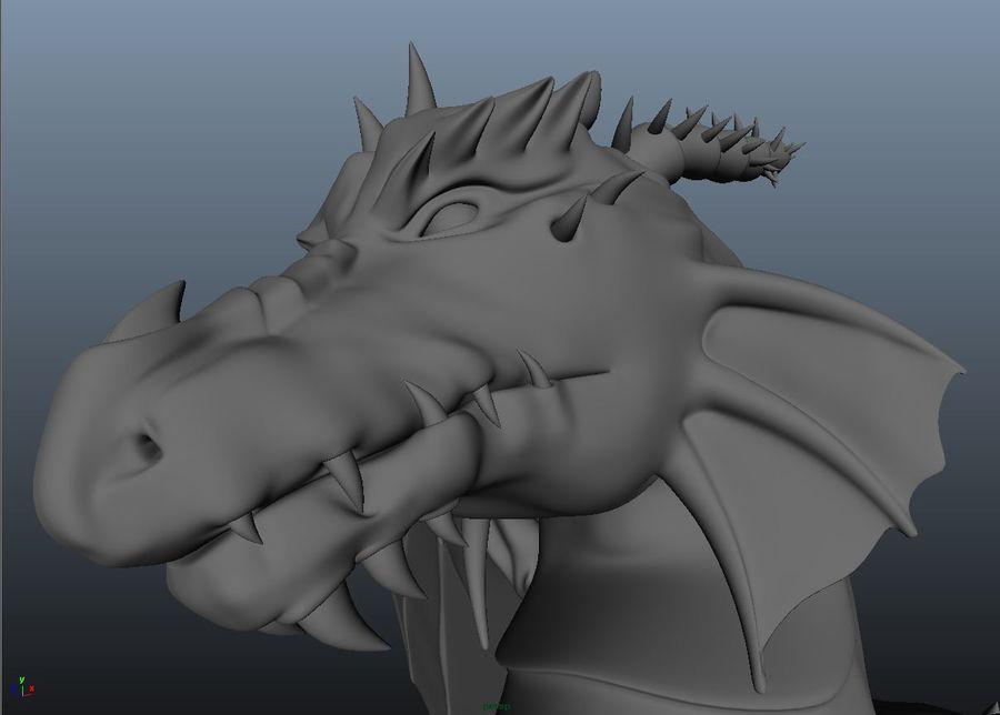 drake royalty-free 3d model - Preview no. 10