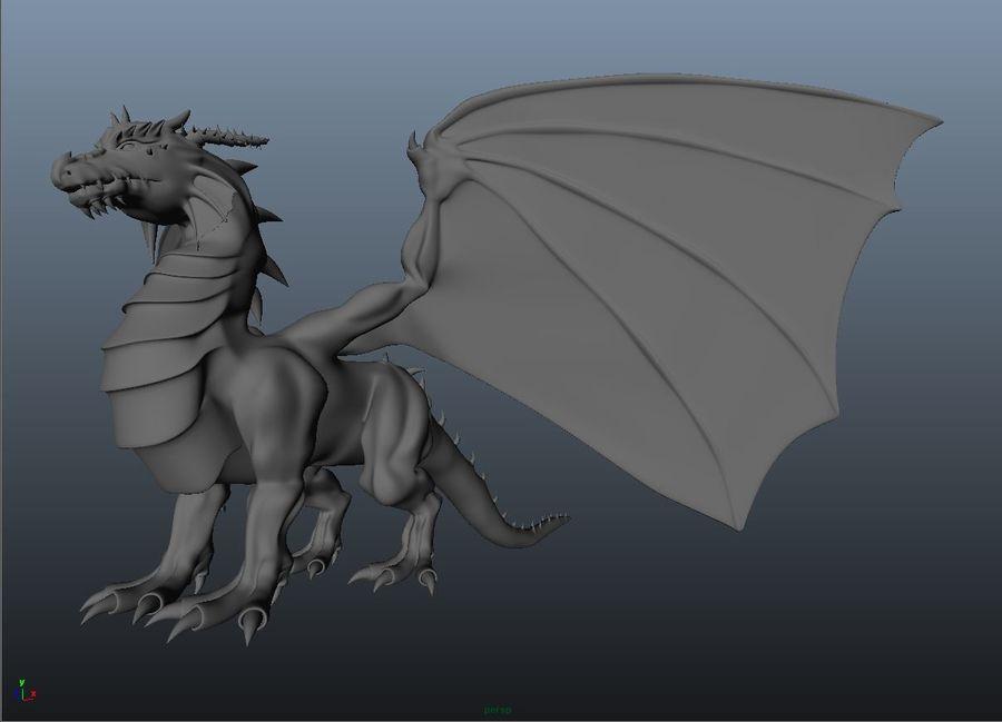 drake royalty-free 3d model - Preview no. 2
