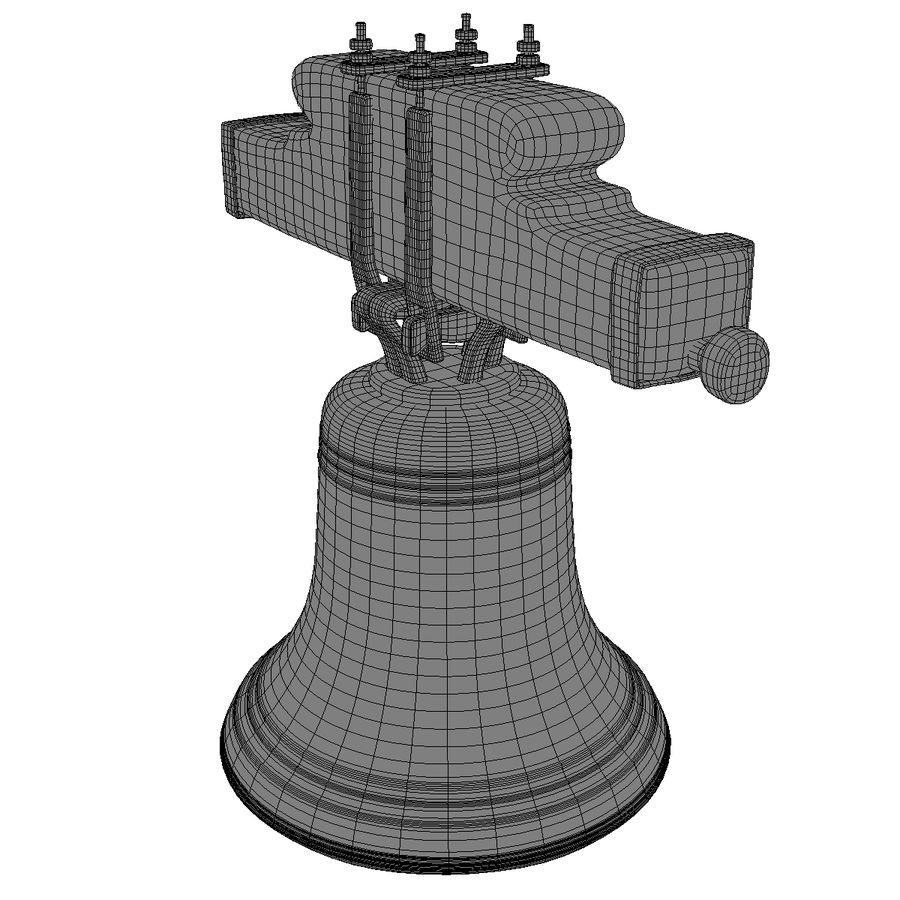 Dzwon kościelny royalty-free 3d model - Preview no. 15