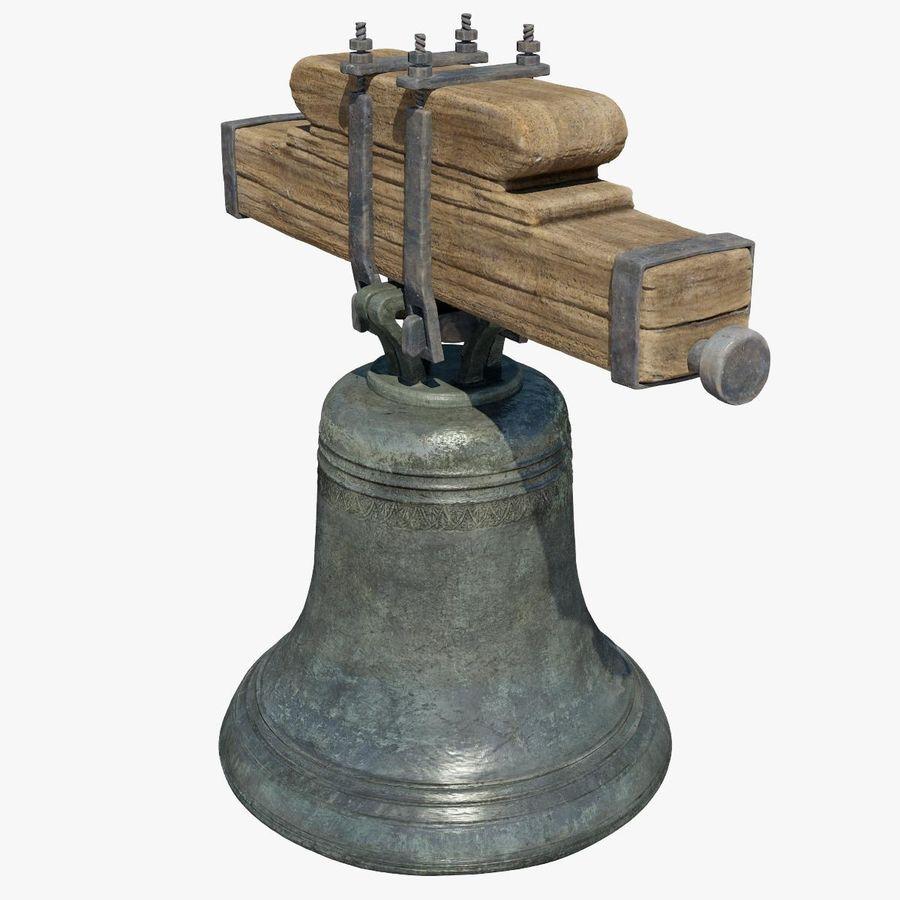 Dzwon kościelny royalty-free 3d model - Preview no. 5