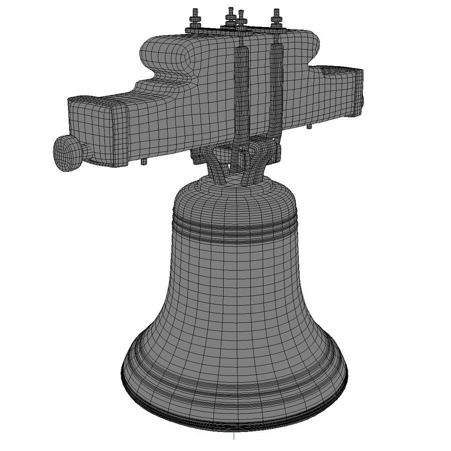 Dzwon kościelny royalty-free 3d model - Preview no. 12