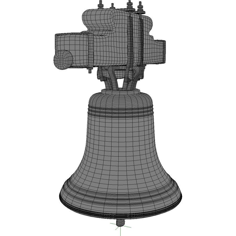 Dzwon kościelny royalty-free 3d model - Preview no. 16
