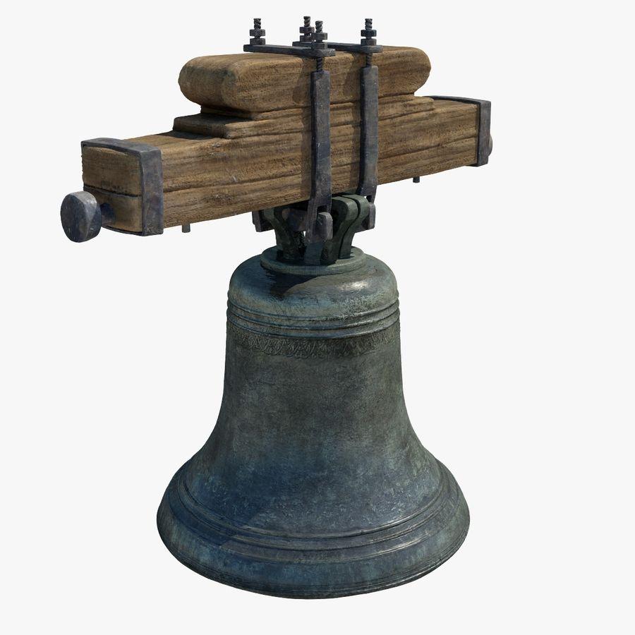 Dzwon kościelny royalty-free 3d model - Preview no. 1