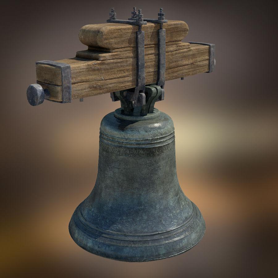 Dzwon kościelny royalty-free 3d model - Preview no. 2