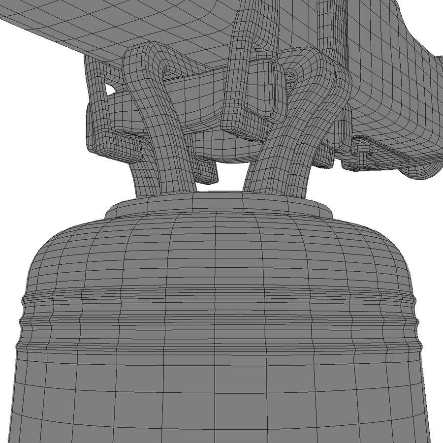 Dzwon kościelny royalty-free 3d model - Preview no. 18