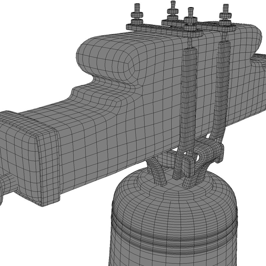 Dzwon kościelny royalty-free 3d model - Preview no. 17
