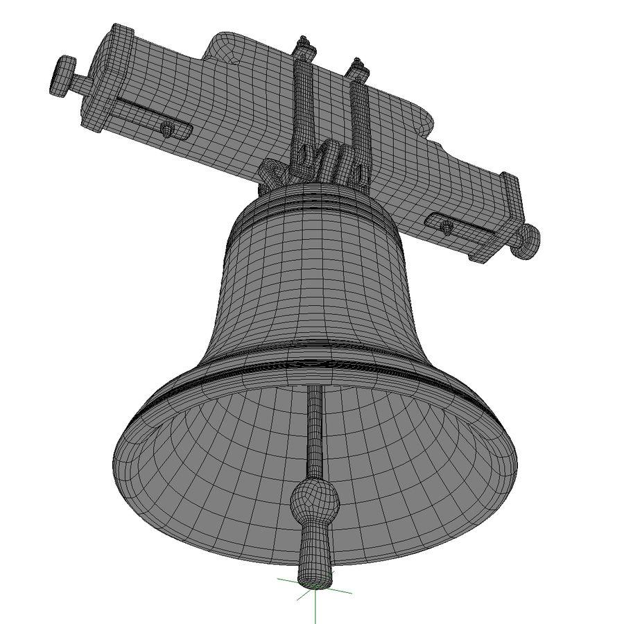 Dzwon kościelny royalty-free 3d model - Preview no. 13