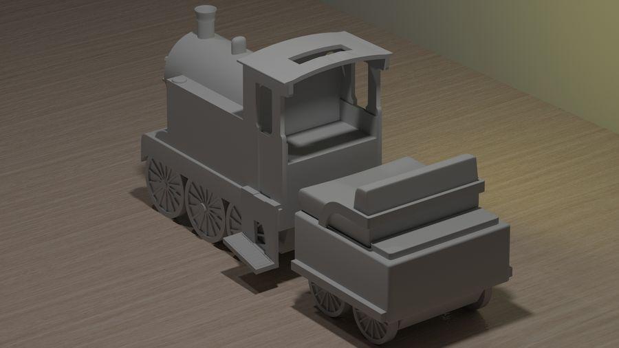 Tren de juguete royalty-free modelo 3d - Preview no. 3