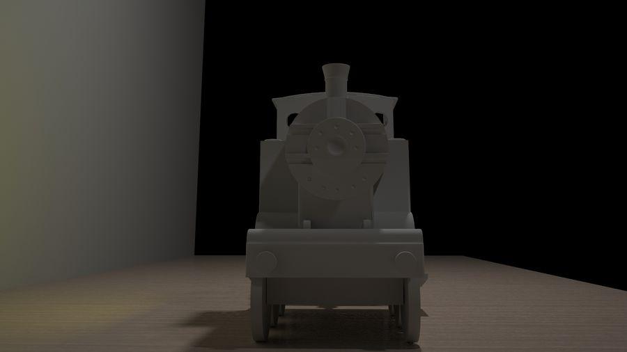 Tren de juguete royalty-free modelo 3d - Preview no. 5