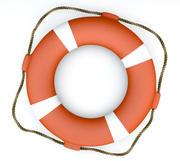 Lifebuoy - HighPoly 3d model