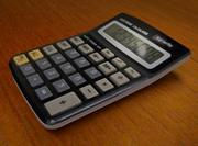 Calculator top/write 3d model