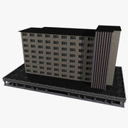 Industrie gebouw 3d model