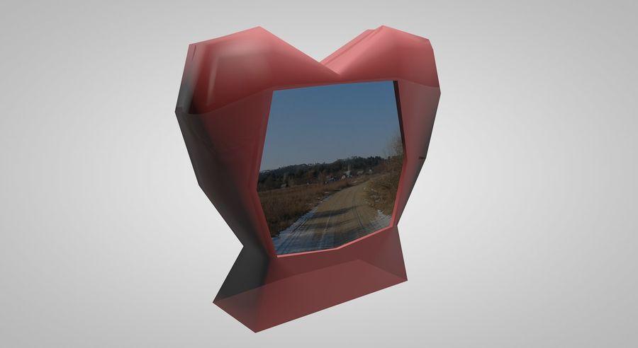 Valentine Photoframe royalty-free modelo 3d - Preview no. 1