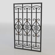 window bars 008 3d model