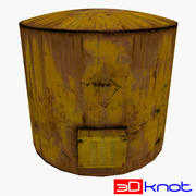 Réservoir de stockage 001 3d model