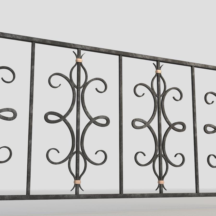 Cerca de ferro 015 royalty-free 3d model - Preview no. 3