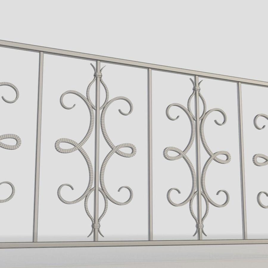 Cerca de ferro 015 royalty-free 3d model - Preview no. 6