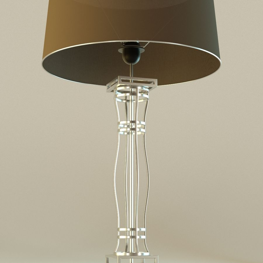 Lamp 3 royalty-free 3d model - Preview no. 2
