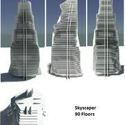 skyscaper 3d model