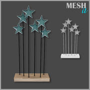 Stars Decoration 3d model
