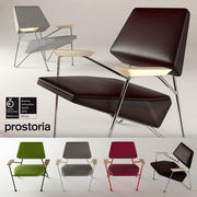 Prostoria Polygon Chair 3d model