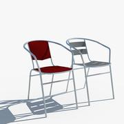 Silla modelo 3d