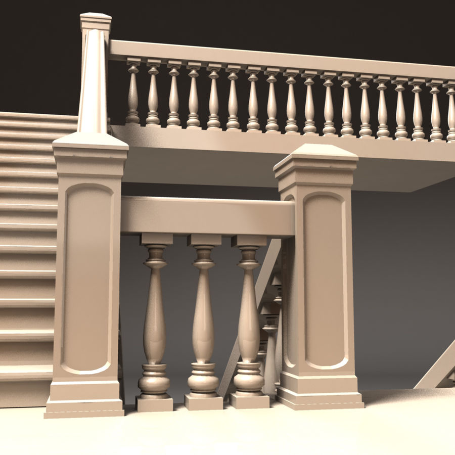 Scala royalty-free 3d model - Preview no. 4