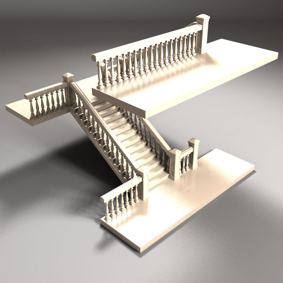 Scala royalty-free 3d model - Preview no. 5