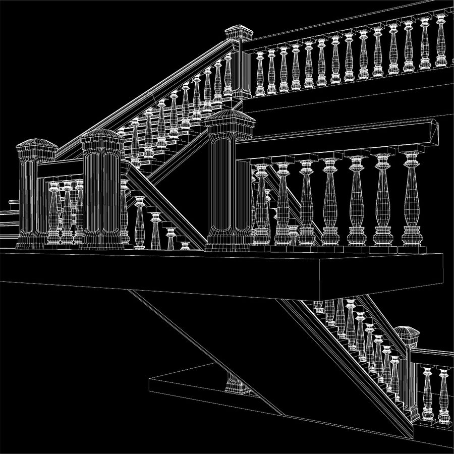 Scala royalty-free 3d model - Preview no. 15