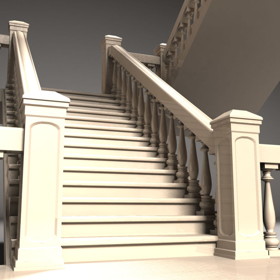 Scala royalty-free 3d model - Preview no. 2