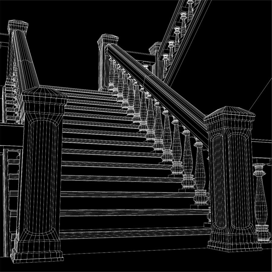 Scala royalty-free 3d model - Preview no. 9