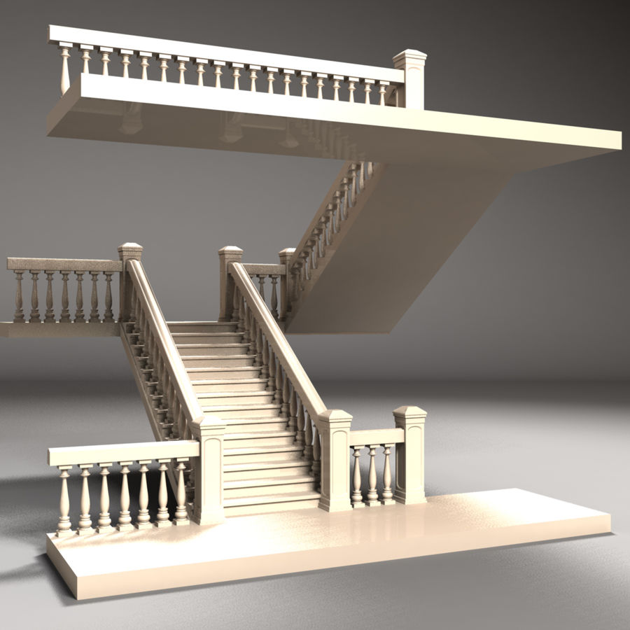Scala royalty-free 3d model - Preview no. 1